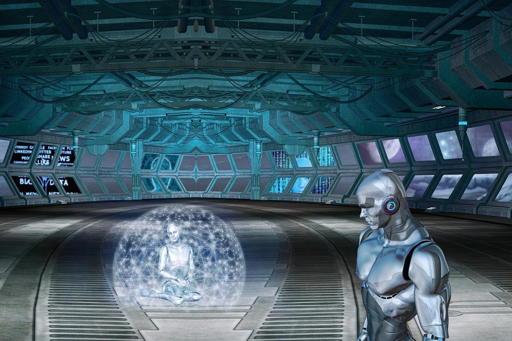 biorobotica e robot blu